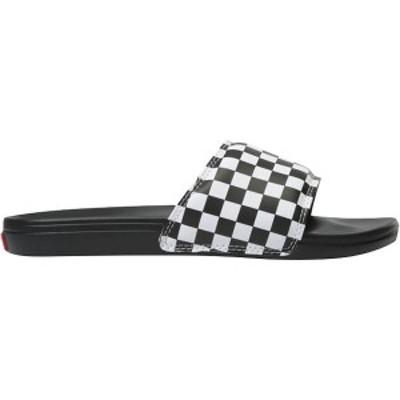 バンズ メンズ サンダル シューズ La Costa Slide-On Sandal (Checkerboard) True White/Black