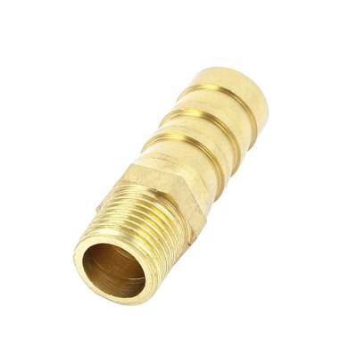 uxcell ホースバーブカプラ 10mm1/8 BSP ストレート 空気圧縮 コネクター ブラストーン