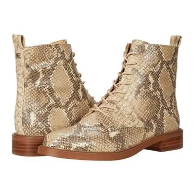 サム エデルマン Nina レディース ブーツ Wheat Multi Exotic Snake Print Leather