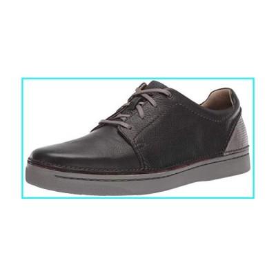 Clarks Men's Kitna Stride Sneaker, Black Leather, 085 M US