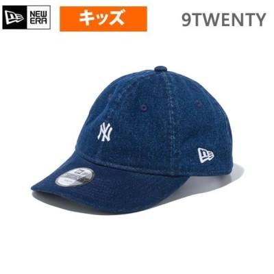 ニューエラ キャップ Youth 9TWENTY ヤンキース パッカブル デニム(12654220)NEWERA 正規品 子供用 帽子