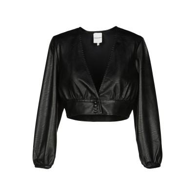 シルビアンヒーチ SILVIAN HEACH テーラードジャケット ブラック XXS ポリウレタン 100% テーラードジャケット