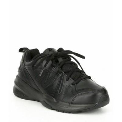 ニューバランス レディース スニーカー シューズ Women's 608 V5 Training Shoes Black/Black