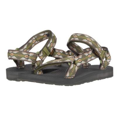 テバ Teva レディース サンダル・ミュール シューズ・靴 Original Universal Canyon Calliste Green