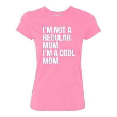 レディース 衣類 トップス P&B Im Not A Regular Mom Im A Cool Mom Women's T-shirt Azalea Pink S グラフィックティー