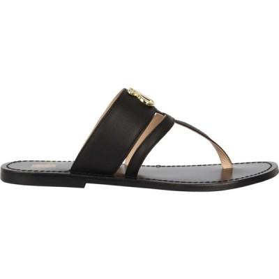 ビバ Biba レディース サンダル・ミュール フラット シューズ・靴 Flat Sandals Black