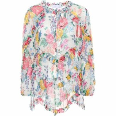 ジマーマン Zimmermann レディース トップス Exclusive to mytheresa.com - silk top Floral
