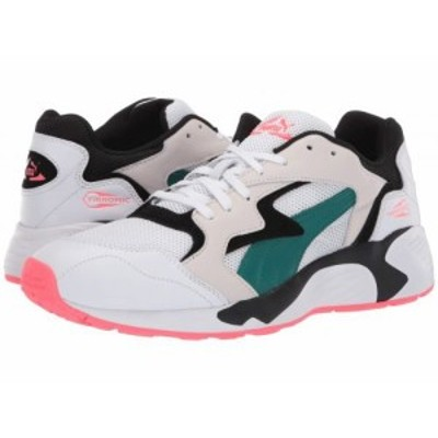 PUMA プーマ メンズ 男性用 シューズ 靴 スニーカー 運動靴 Prevail Classic Puma White/Teal Green【送料無料】