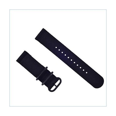 New SUUNTO CORE Nylon Strap Diver Watch Band LUGS Black PVD 3 Rings並行輸入品