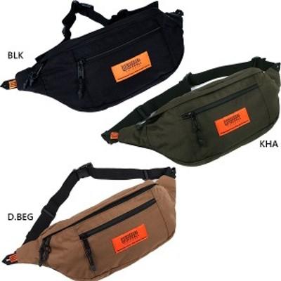 【送料無料】 ユニバーサルオーバーオール UNIVERSAL OVERALL メンズ レディース 切替ウエストバッグ ウェストポーチ 鞄 UVO-039