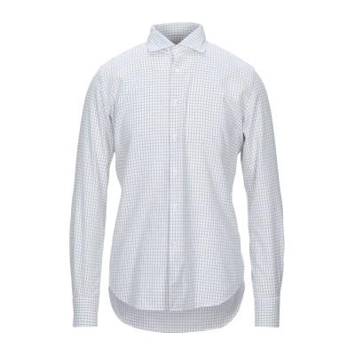 グランシャツ GLANSHIRT シャツ ホワイト 41 コットン 100% シャツ