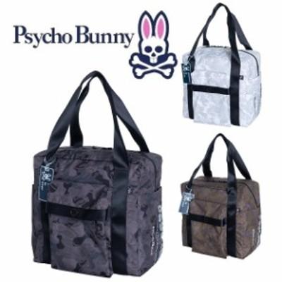 Psycho Bunny サイコバニー PSYCHED カモ GOLF TOTE PBMG9FJ1 2019年秋冬モデル