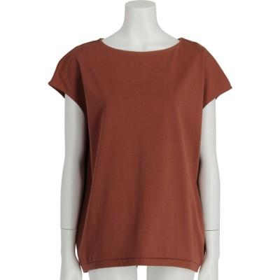 フレンチスリーブゆるTシャツ (オレンジ)