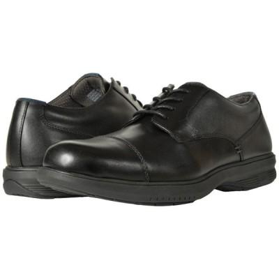 ナンブッシュ Nunn Bush メンズ 革靴・ビジネスシューズ Melvin Street Cap Toe Oxford with KORE Slip Resistant Walking Comfort Technology Black