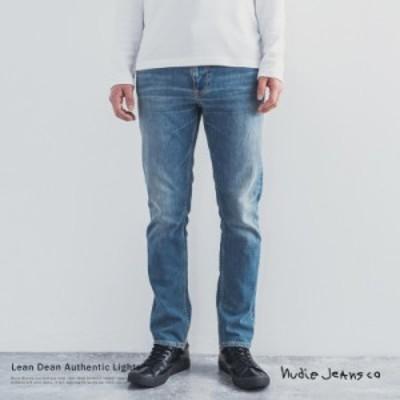 Nudie Jeans ヌーディージーンズ Lean Dean 113494030 デニムパンツ メンズ ジーンズ ストレート スリム ストレッチ 無償リペア 9860