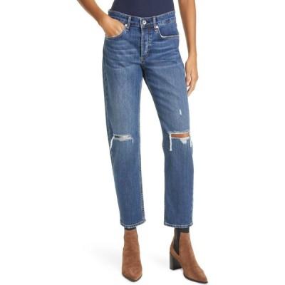 ラグ&ボーン RAG & BONE レディース ジーンズ・デニム ダメージ加工 ボトムス・パンツ Rosa Ripped Mid Rise Boyfriend Jeans Emory