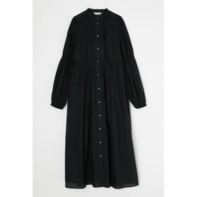 【マウジー】 TINY FLOWER LONG ドレス レディース ブラック 1 MOUSSY