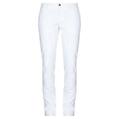 メゾン クロシャード MAISON CLOCHARD パンツ ホワイト 34 コットン 68% / テンセル 30% / ポリウレタン 2% パンツ