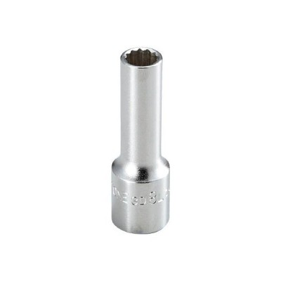 TONE TONE ディープソケット(12角) 8mm 3D08L 3D-08L