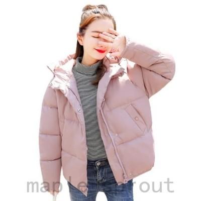中綿コート ふっくら レディース 女性 女の子 フード付き ボリューム あったか 防寒 おしゃれ