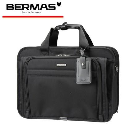 バーマス BERMAS ブリーフケース ファンクションギアプラス 60434 ブラック  FUNCTION GEAR PLUS 2WAY 2層 キャリーオンバッ [PO10]