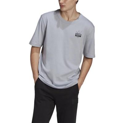 【adidas】 アディダス M ABSTRACT OG TEE ショートスリーブTシャツ GN3331 HSIL L シルバー