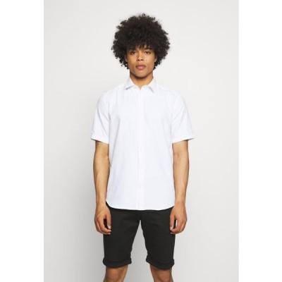 メンズ ファッション ONSTRAVIS SOLID SHIRT - Shirt - bright white
