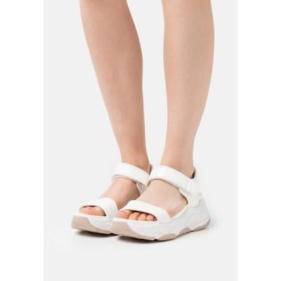 アルド レディース 靴 シューズ ADWEAVEN - Platform sandals - white