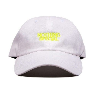 """NOTHING SPECIAL(ナッシングスペシャル) キャップ """"FATHER CAP"""" カラー WHITE"""