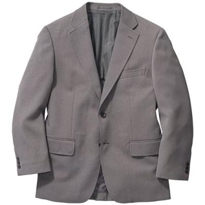 洗える袖丈ぴったりジャケット/グレー系/L