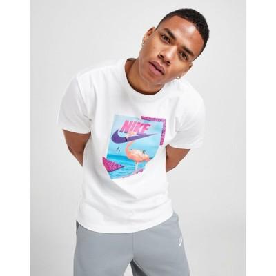 ナイキ Nike メンズ Tシャツ トップス Flamingo T-Shirt white
