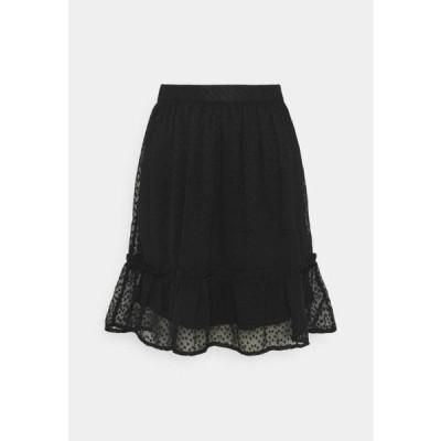 レディース ファッション AYELLA SKIRT - A-line skirt - black