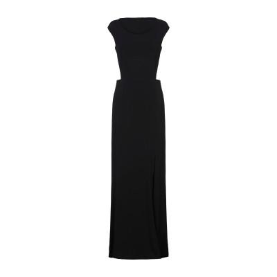 パトリティア ペペ セーラ PATRIZIA PEPE SERA ロングワンピース&ドレス ブラック 0 アセテート 75% / ナイロン 20%