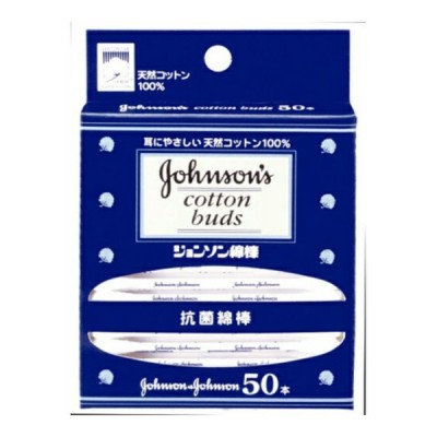 【メール便送料無料】 ジョンソン・エンド・ジョンソン ベビー 綿棒 50本入 1個