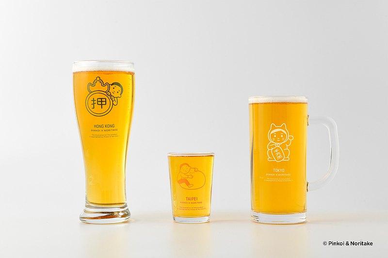 預購 |  Pinkoi x Noritake 啤酒杯套裝