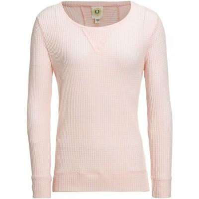 フューダ Fu Da レディース ブラウス・シャツ トップス Long Sleeve Honeycomb Shirt Light Pink