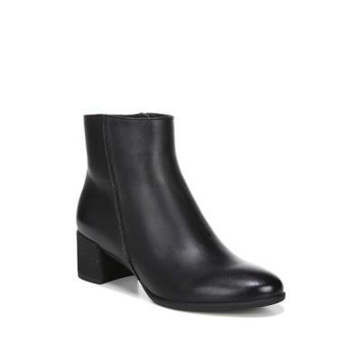 ソウルニュトライザー レディース ブーツ&レインブーツ シューズ Richy Block Heel Boot - Wide Width Available BLACK SMOOTH