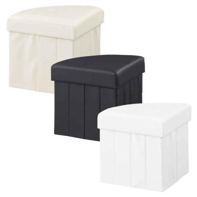 北海道・沖縄・離島配送不可 代引不可 ボックススツール 扇形 収納ボックス 椅子 東谷 LFS-813