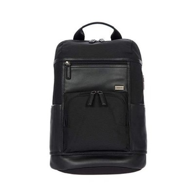 Bric's Monza Urban Laptop|Tablet Business Backpack, Black/Black, One Size 並行輸入品