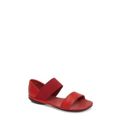 【当日出荷】 カンペール レディース Right Nina Sandal (Women) Medium Red Leather 【サイズ US9】