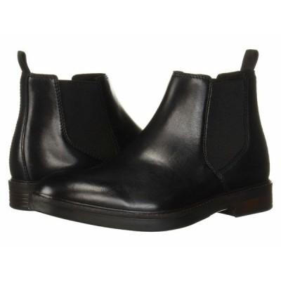 クラークス ブーツ&レインブーツ シューズ メンズ Paulson Up Black Leather