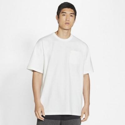 ナイキ Nike メンズ Tシャツ ポケット トップス Premium Essentials Pocket T-Shirt White/Black