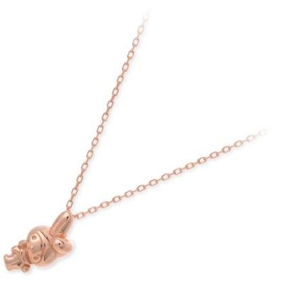 ピンクゴールド ネックレス 彼女 記念日 ギフトラッピング 誕生日 送料無料 レディース