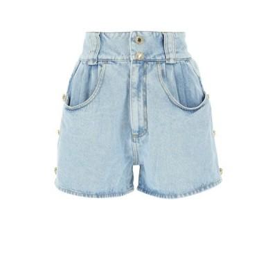 アレッサンドラ・リッチ レディース カジュアルパンツ ボトムス Alessandra Rich High-Waisted Denim Shorts -