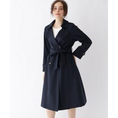 Couture brooch / 【WEB限定サイズ(LL)あり】裏地花柄トレンチコート WOMEN ジャケット/アウター > トレンチコート