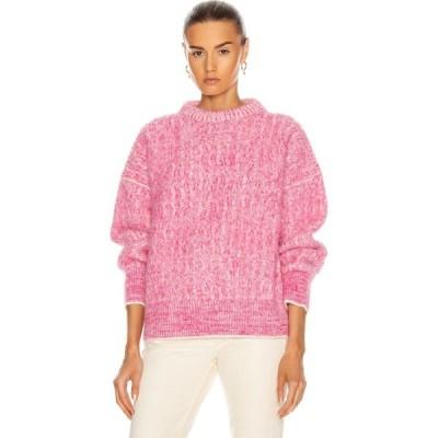 アクネ ストゥディオズ Acne Studios レディース ニット・セーター トップス kornelia sweater Pink/White