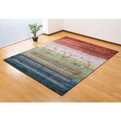 トルコ製ウィルトン織カーペット  グラデーション柄80×140cm