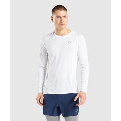 ジムシャーク Tシャツ メンズ 筋トレ スリムフィット ボディビル Tシャツ ジムシャーク スピード ライトウエイト Tシャツ 半袖 GYMSHARK フィジーク Tシャツ