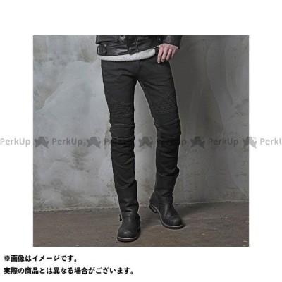 【無料雑誌付き】uglyBROS パンツ MOTOPANTS TON-UP(Men's) ブラック サイズ:32インチ アグリブロス