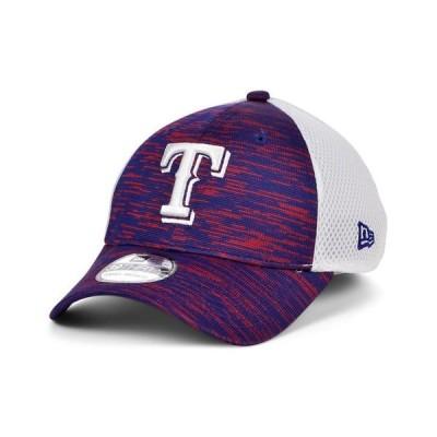 ニューエラ メンズ 帽子 アクセサリー Texas Rangers English Knit Neo 39THIRTY Cap